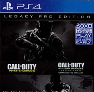 Call of duty legacy pro edition (PS4) (GAME) (SEASON PASS AND MWR) £14.99