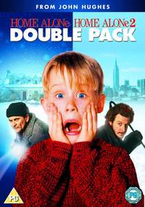Home Alone Double Pack DVD - £3 instore @ Asda