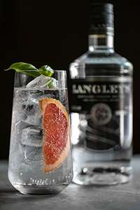 Langley's Number 8 Gin, 70 cl - ends at midnight! - £21.49 @ Amazon