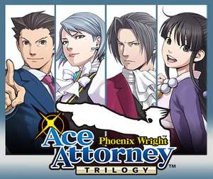 Phoenix Wright Ace Attorney Trilogy 3DS - £10.70 @ Nintendo