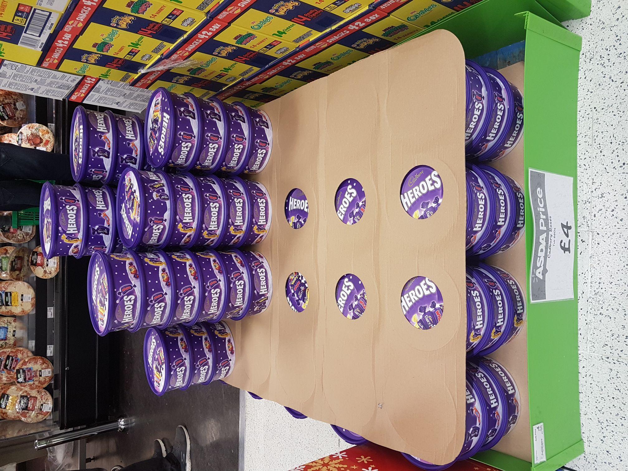 Cadbury's Heroes Tub (660g) £4 @ Asda