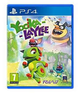 Yooka-laylee PS4 £9.99 pre-owned at game
