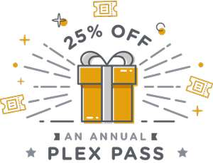 PLEX - 25% off Annual Plexpass Subscription