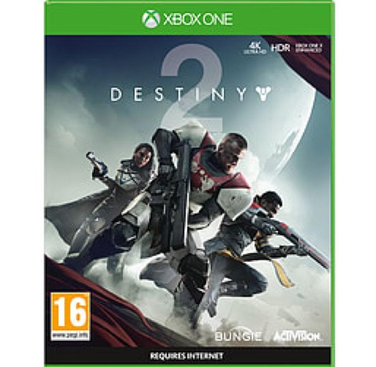 Destiny 2 XB1 £19.99 @ Game