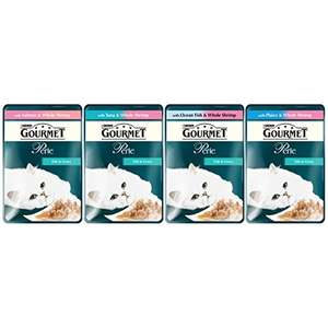 Gourmet Perle Ocean Delicacies in Gravy/chef`s country collection, 96 x 85 g RRP £37 now £21 delivered Amazon s&s