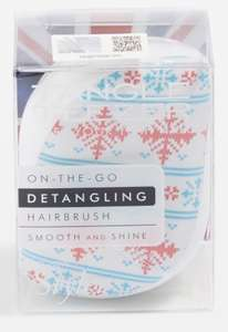 Christmas jumper print Tangle Teezer £3 @ Topshop