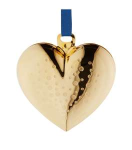 Georg Jensen Christmas Collectibles Heart Bauble 2017 from Harrods. Was £25.00 Now £11.95 @ Harrods
