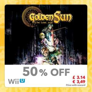 50% Discount on Golden Sun & Golden Sun: The Lost Age [GBA/Wii U] 25 Gold @ Mynintendo