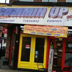 Free Meal to all @ CumminUp Lewisham High Street Christmas day.