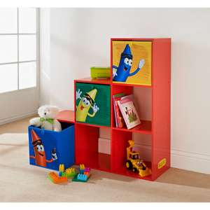 B&M Stores Crayola Kids 1-2-3 Shelving Unit - Instore only. Other  great Crayola furniture shown in link