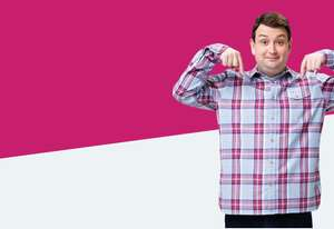 Plusnet Mobile - 750 mins, ult texts, 1.5gb 4g data. £5