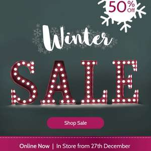 Jojo Maman Bebe up to 50% off sale now online and in stores on the 27/12