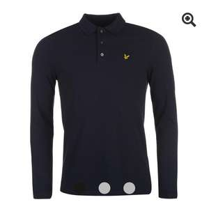 Lyle and Scott long-sleeved polo £30 @ USC