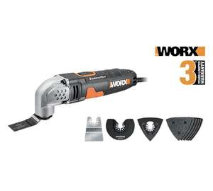 Worx Sonicrafter wx667.1 with 10 attachments £25 at Homebase