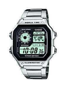 "Casio ""Royale"" Collection Men's Digital Watch with Resin Strap – AE-1200WH £14.99 Prime £18.98 delivered@ Amazon"