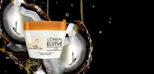 Free samples of Elvive Extrodinary Oil Coconut Mask