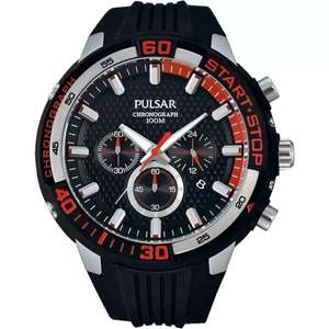 Pulsar Gents Sports Chronograph Watch Pt3697x1 £62.50 @ Debenhams