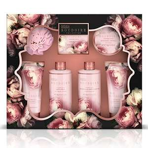 Baylis & Harding Bathing Gift Set, Boudoire Collection, Moonlight Peony £7.50 Prime @ Amazon
