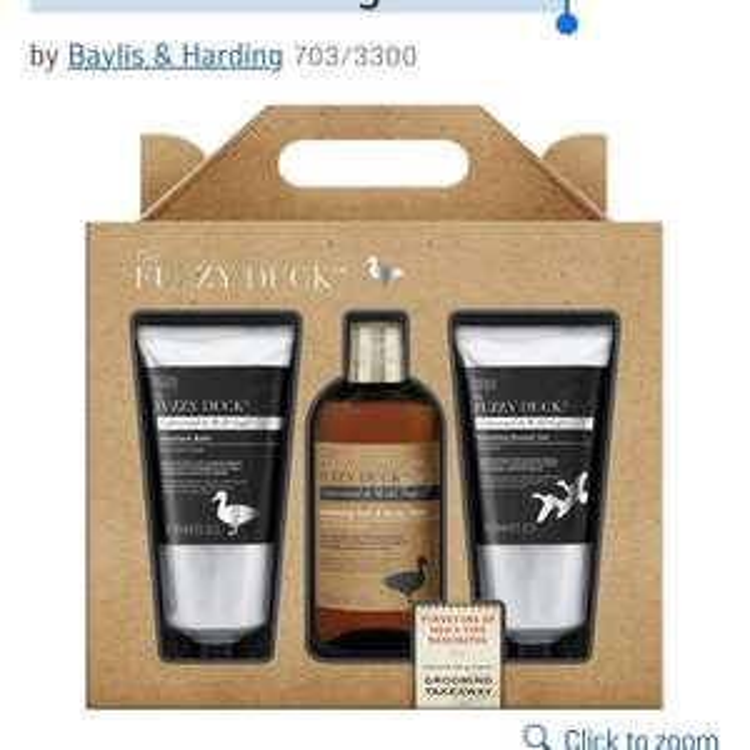 Baylis & Harding Men's 3 Piece Grooming Gift Set £6.50 @ Argos