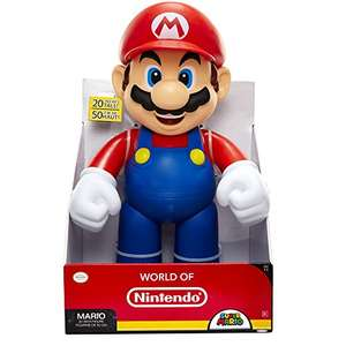 "20"" Nintendo Super Mario Big Figure rrp 34.99 £14 Prime @ Amazon"