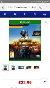 Player unknown's Battlegrounds Xbox one £22.99 @ Currys