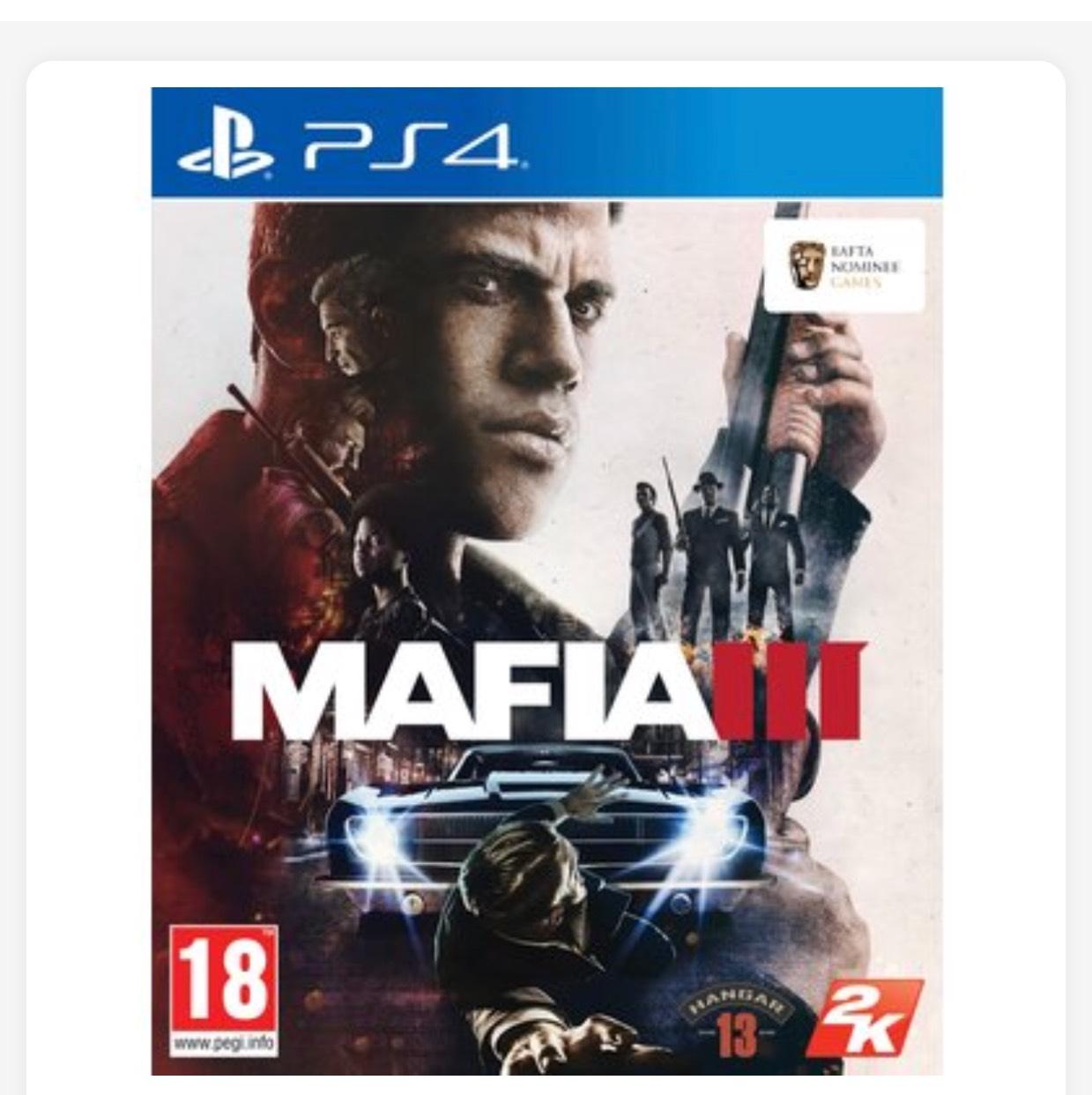 Mafia 3 PS4 £10.99 @ Smyths