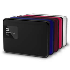 "WD MY PASSPORT ULTRA (RECERTIFIED) 1TB 2.5"" EXTERNAL HARD DRIVE £34.99 @ WDC"
