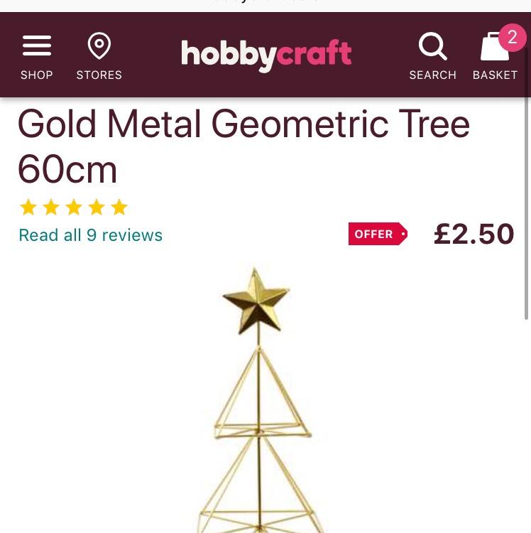 Hobbycraft Sale