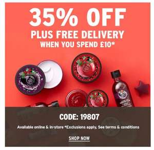 Bodyshop will price match the discounts on their website.