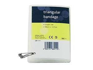 Reliance Triangular Bandage 20p delivered with Prime @ Amazon Glitch