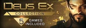 Deus Ex Collection via Steam for £10.24