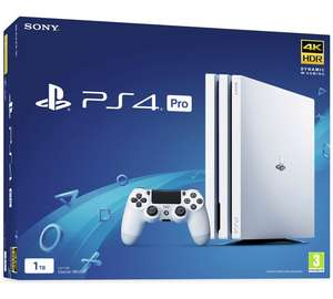 Get a white Ps4 pro, extra controller and game at Argos for £299.99