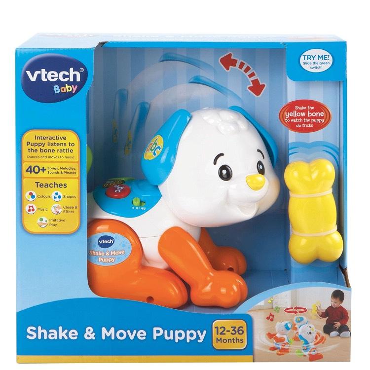 VTech Shake and Move Puppy £8.00 Amazon Prime (£10.99 non Prime)