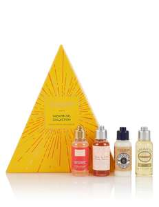 L'OCCITANE Shower Gel Collection  @ M&S - £11