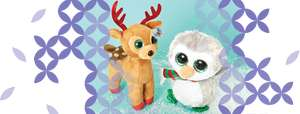 TY Christmas Toys £1.50 at Claires Accessories