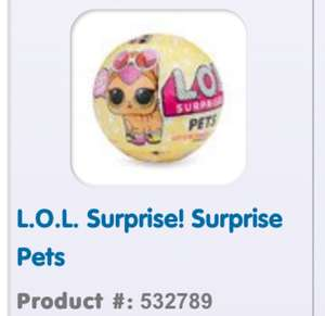 Lol suprise pets instock online the entertainer for £10