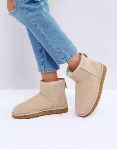 UGG Classic mini II Cream/sand colour way at ASOS for £58
