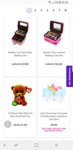 Claire's accessories sneak peek up to 75% off sale. Free click and collect