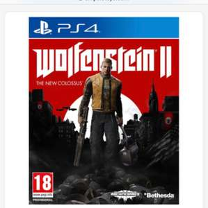 Wolfenstein 2 - £19.99 PS4 and Xbox One Delivery and Stores at Smyths Stores