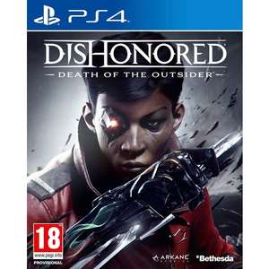 Dishonored: Death of the Outsider PS4 £7.99 @ Smyths