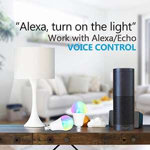 Kainsy WiFi Smart Bulb from Amazon @ 11.99 with voucher Sold by HuaQi and Fulfilled by Amazon (Prime or £15.98 non Prime)