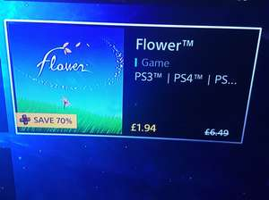 Flower PS4 PS3 vita- PSN Store