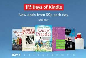 12 days of deals on Kindle books