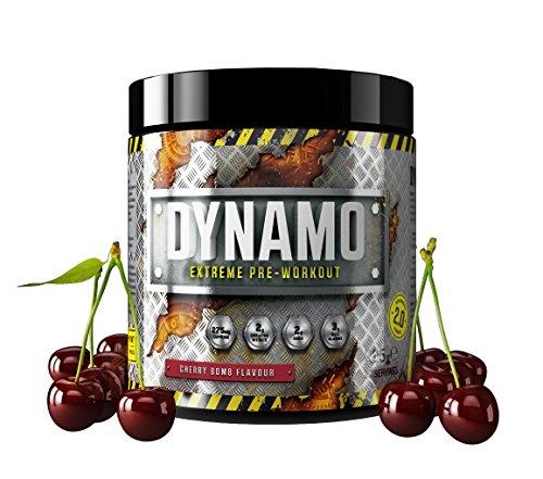 Protein Dynamix Dynamo Extreme Pre-Workout Formula Cherry Bomb Flavour Powder, 225 g, only £4.52 (Prime) £8.51 (Non Prime) @ Amazon