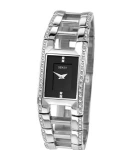 Sekonda Seksy Ladies' 4710 Illusion Stone Set Bracelet Watch Argos online and instore RRP £79.99 Now £29.99