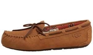 Junior Girls Ryder Jungle Moccasins UGG Slippers - £13.99 + £4.49 P&P @ M&M Direct