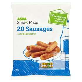 ASDA Smart Price 20 Sausages ( Treat the dog in your life this Christmas ) works out cheaper than dog food 0.99p @ asda