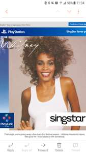 Free Whitney Houston singstar song for playstation  (Check emails)