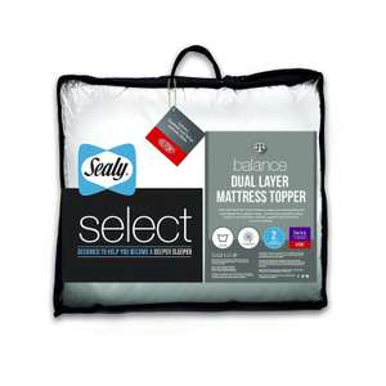 Sealy Select Balance Dual Layer Mattress Topper - Single - £20 @ Amazon
