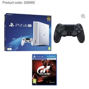 PlayStation Pro PS4 White with extra controller and GT Sport £299.98 @ Currys
